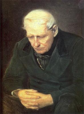 Vasily Grigorievich Perov. Old man