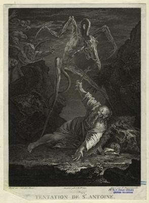 Сальваторе Роза. Искушение Святого Антония