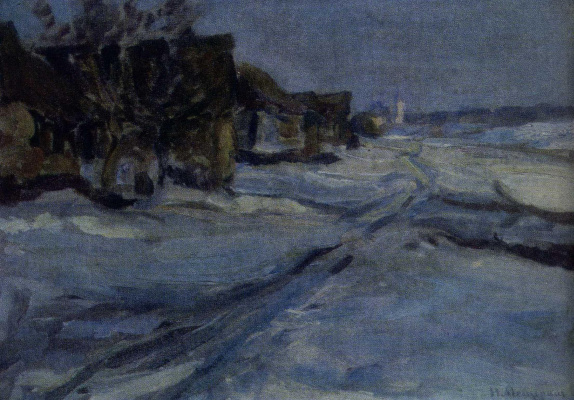 Николай Васильевич Мещерин. Весна