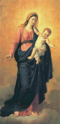 Орест Адамович Кипренский. Богоматерь с младенцем