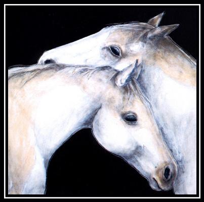 Сюзанна Бец. Белые лошади