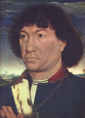 Ганс Мемлинг. Мужской портрет
