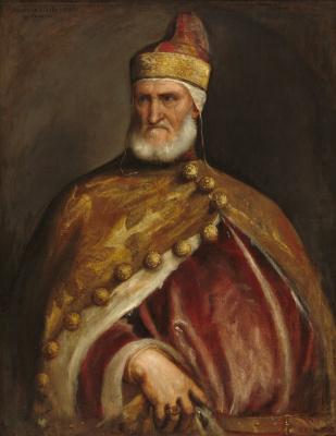 Titian Vecelli. Portrait Of Doge Andrea Gritti