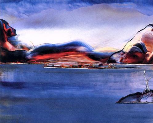 Рене Ганьон. Малые острова в Сагенея