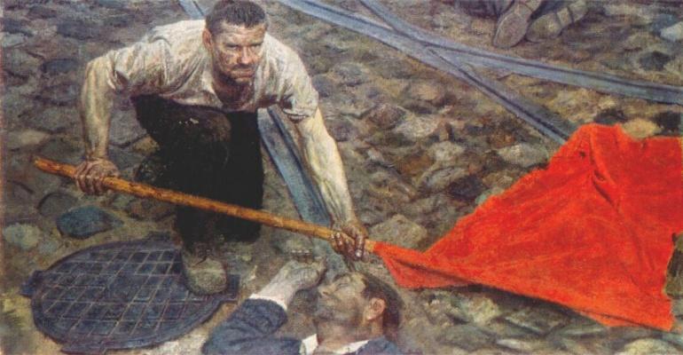 Гелий Михайлович Коржев. Поднимая знамя