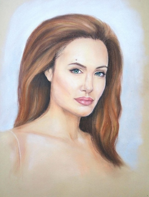 Olga Alexandrovna Suslova. Portraits to order.