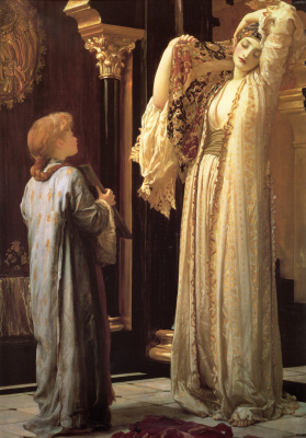 Frederic Leighton. Light of the harem