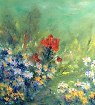 Rita Arkadievna Beckman. Shining poppy among daisies