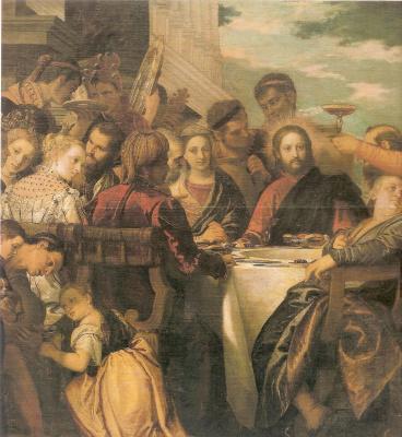 Paolo Veronese. Wedding in Cana. Fragment