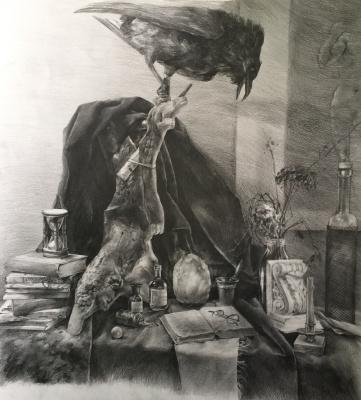 "Diana Eminovna Rasulova. Still Life ""Alchemist"""