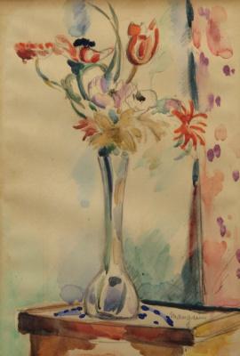 Анри Шарль Манген. Ваза с цветами