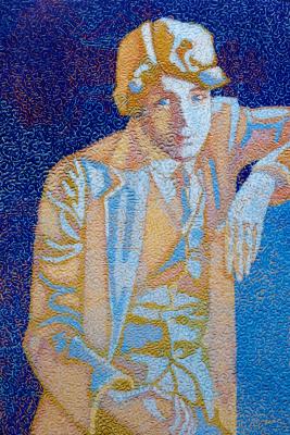 Алексей Петрович Акиндинов. Untold, blue, tender ... Portrait of Sergey Yesenin