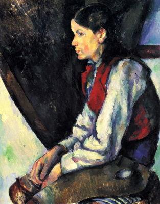 Paul Cezanne. The guy in the red vest