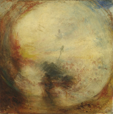 Joseph Mallord William Turner. Light and color (Goethe's theory). The morning after the flood. Moses writes the Book of Genesis
