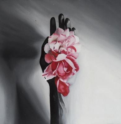 Margarita Andreevna Yakuncheva. Flower in hand