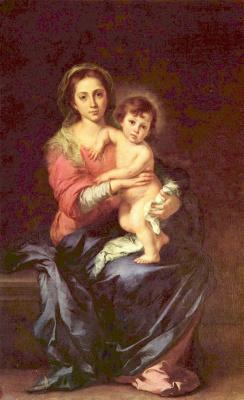 Bartolomé Esteban Murillo. Madonna