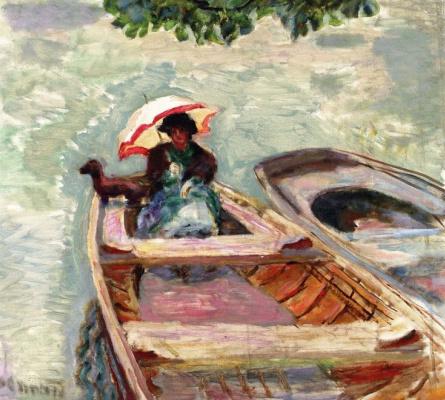Pierre Bonnard. The boat trip