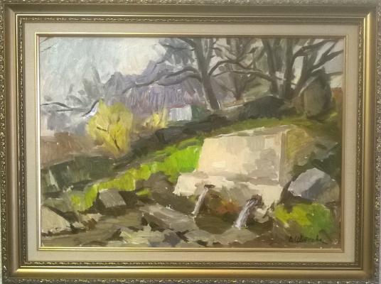 Valentina Petrovna Tsvetkova. Mountain landscape.Simeiz