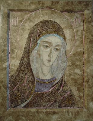 Aleksey Zagorsky. The mother of God (Deesis fragment)