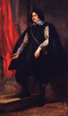 Anthony van Dyck. Portrait of a gentleman