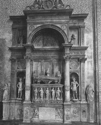 Туллио Ломбардо. Монумент Андреа Вендрамин