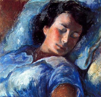 Миро Маиноу. Спящая женщина