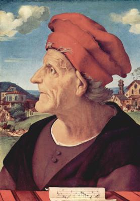 Пьеро ди Козимо. Портрет Франческо Джамберти