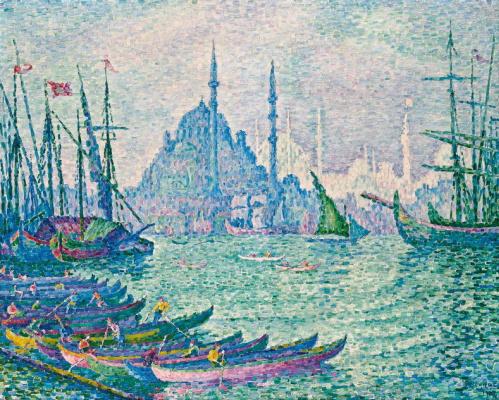 Paul Signac. The Golden Horn. Minarets