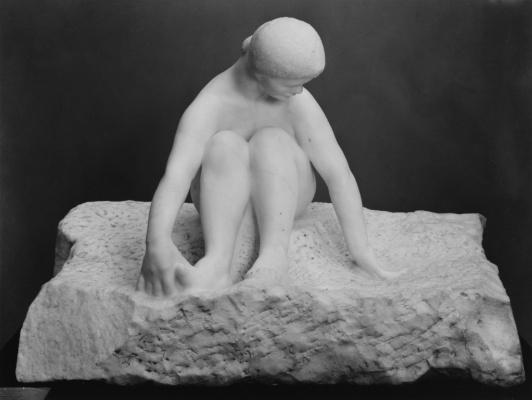 Auguste Rodin. The sea