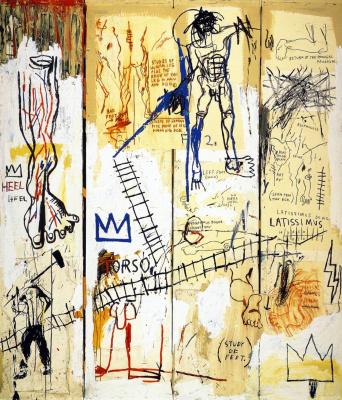 Jean-Michel Basquiat. The great hits of Leonardo da Vinci