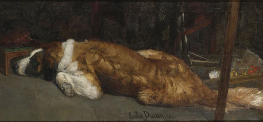 Каролюс-Дюран. Пес