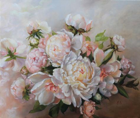 Екатерина Саевская. Белые пионы