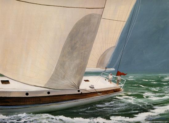 Даниэль Фрей. Океан