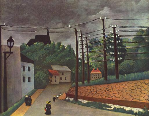 Henri Rousseau. Malakoff