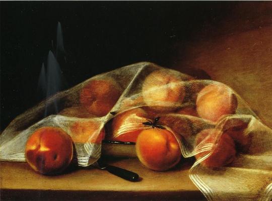 Рафаэль Пил. Накрытые персики