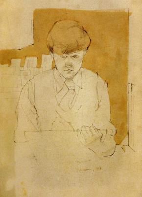 David Hockney. Norman Stevens
