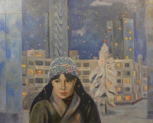 Евгений Александрович Казанцев. The old year is leaving.