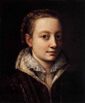 Sofonisba Anguissola. Minerva Angwissola, sister of the artist