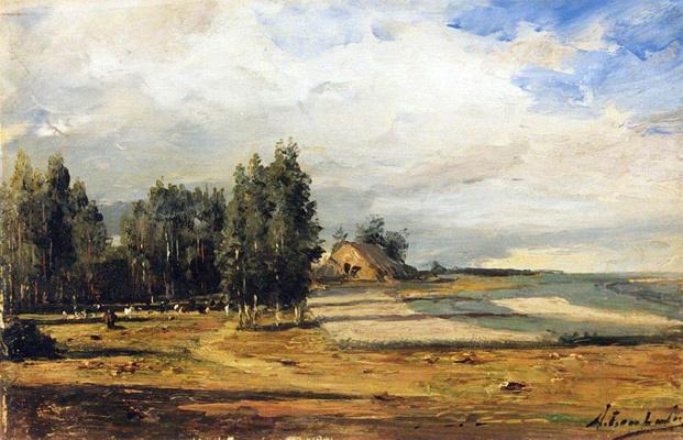 Alexey Petrovich Bogolyubov. The estate of Bogolyubov