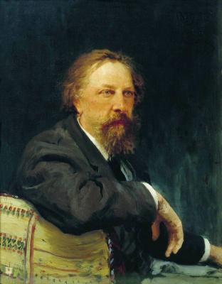 Ilya Efimovich Repin. Portrait Of A. K. Tolstoy