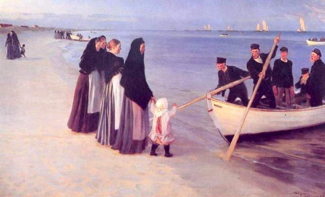 Peder Severin Kreyer. The fishermen in Skagen