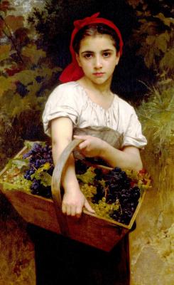 Адольф Вильям Бугро. Сборщица винограда