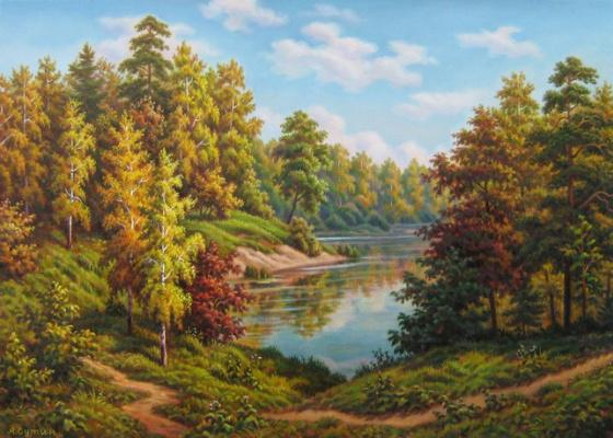 Андрей Никонорович Сутин. Autumn prevails