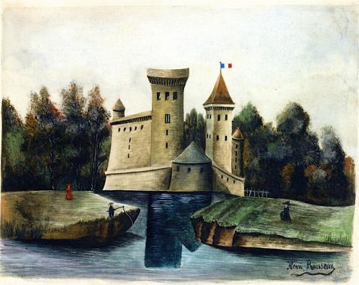 Henri Rousseau. Landscape with Château