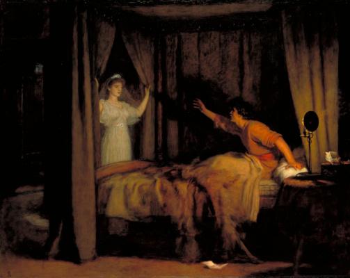 John Everett Millais. Speak! Speak!