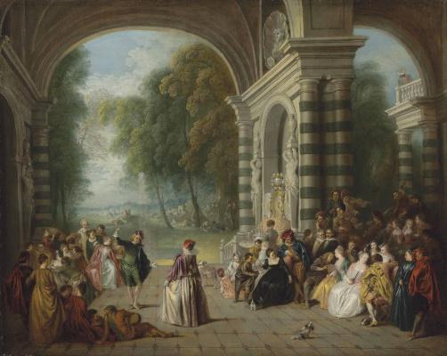 Antoine Watteau. Joy Bala