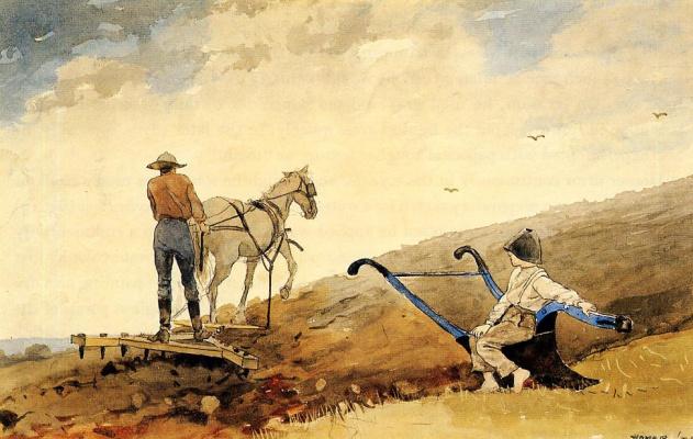 Winslow Homer. Harrowing