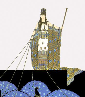 Romain Tirtoff. Greek mythology. Gera