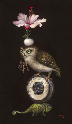 Irena Aizen. Pyramid with Owl