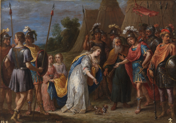 David Teniers the Younger. Armida before Godfred de Bouillon